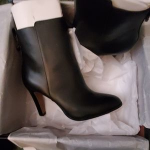 New - Coach - Jemma Leather Boots - 8.5 womens